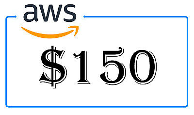 NEW AWS $150 Amazon Web Services Lightsail EC2 PromoCode Credit Code 2020