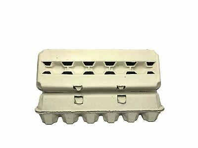 12Ct Blank Egg Cartons - 100Pcs