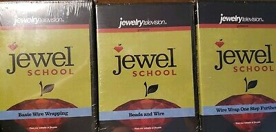 3 Jewel School wire wrapping  DVDs Dale Armstrong NIP basic, beads, advanced
