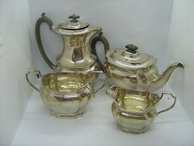 Early 1900`s Quality GWS (George Wish) Sheffield silver plated tea coffee set