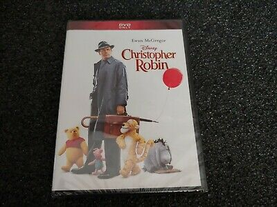 Christopher Robin (DVD, 2018, Widescreen) Factory Sealed