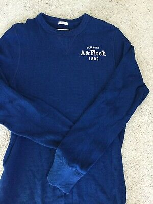 ca0525260 NWT ABERCROMBIE & Fitch Moose Long Sleeve Icon Polo Tee L 2 Colors ...