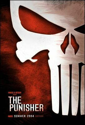 The Punisher (2004) - Teaser - Original movie theater poster 27x40 Double-sided