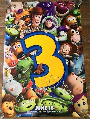 Toy Story 3 (2010) - Final Style - Original movie theater poster 27x40 DS