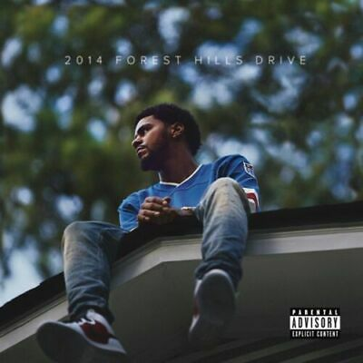 "22x22"" Music J. Cole Forest Hills Drive Poster Wall Art Fabric Decor HD Printed"