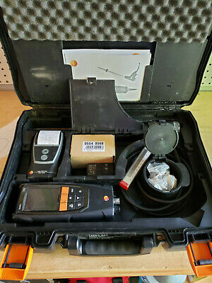 Used Testo 320 Combustion Analyzer w/ Printer. All Sensors Work! GREAT COND!