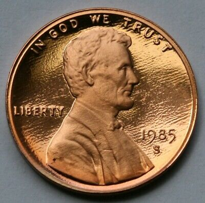 1985 S Lincoln Memorial Cent Gem DCAM Proof Penny US Coin