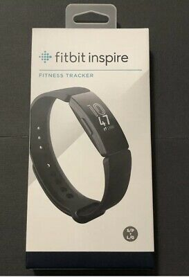NEW Fitbit Inspire Fitness Tracker - Black Includes Small & Large Wristbands