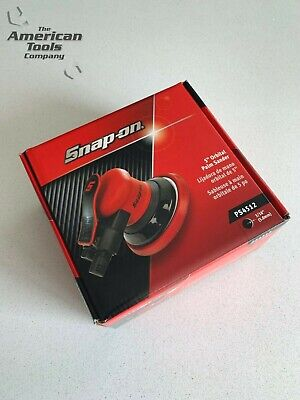 "*NEW* Snap On 5"" Orbital Palm Sander (12,000 RPM) PS4512"
