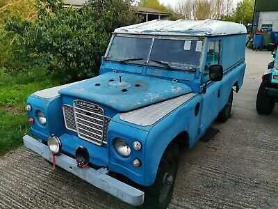 1983 LAND ROVER Series 3 109 Ex-military Left Hand Drive VGC