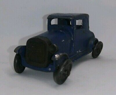 """Antique (1928-1933) Pre-War Diecast TOOTSIETOY Ford Model A Coupe 4655 2-1/2"""" US"""
