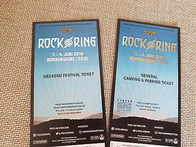 Weekend Festival + Camping/parking Tickets - ROCK AM RING 2019 - Die Ärzte /Tool