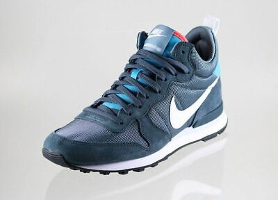 save off 12978 8e519 Limited Edition Nike for J. Crew Internationalist Mid Sneakers Blue 12 D M  NWOB