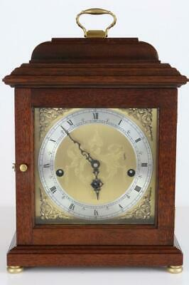 ENGLISH 1/4 CHIMING BRACKET or MANTEL CLOCK by COMITTI of LONDON   westminster
