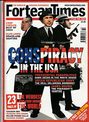 FORTEAN TIMES Magazine November 2004 - Piracy In The USA