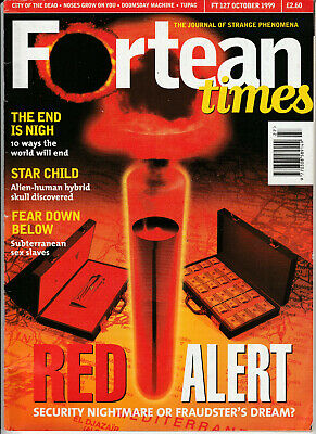 FORTEAN TIMES Magazine October 1999 - Red Alert