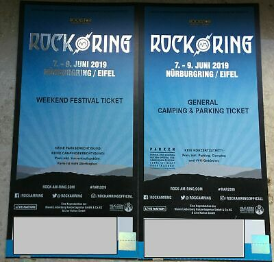 ROCK AM RING 2019: Festival Ticket + Camping & Parking Ticket