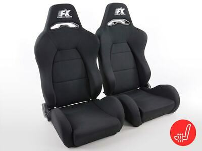 FK sport seats half bucket seat Set Streetfighter with heating VW Audi Skoda