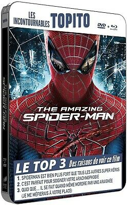 "The Amazing Spiderman ""Steelbook Topito"" - Bluray + Dvd - Neuf Sous Blister"
