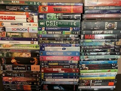 Wholesale Lot Of **67** Used TV Sitcoms DVD's (All Have Cases & Artwork)