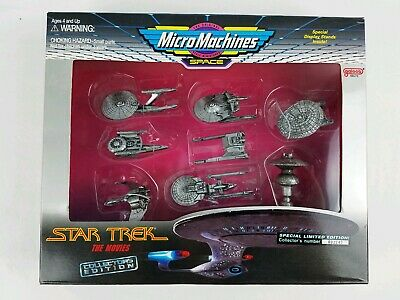 Micro Machines Space Star Trek The Movies Collectors Edition Super Low #002247