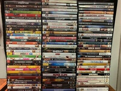 Wholesale Lot Of **100** Used Drama & Romance DVD's (All Have Cases & Artwork)
