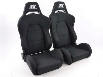 FK sport seats half bucket seats Set Streetfighter with heating and massage