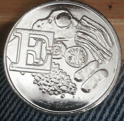 2018 Letter E for English Breakfast 10p coin