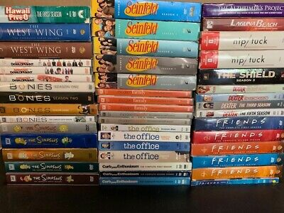 Wholesale Lot Of **47** Used Sitcoms DVD's (All Have Cases & Artwork)