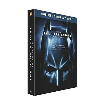 "Batman - The Dark Knight ""Coffret Trilogie"" - Bluray X5 - Neuf Sous Blister"