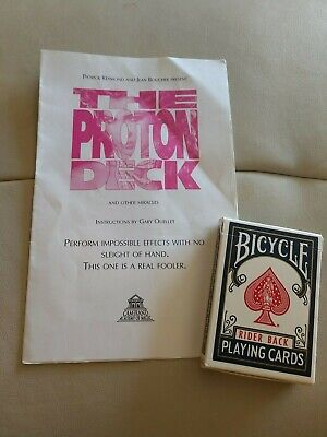 Gary Quellet The Proton Deck & Other Miracles Magic Trick Camirand Academy Magic