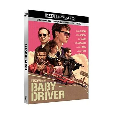 Baby Driver - Bluray 4K Ultra Hd X2 - Neuf Sous Blister