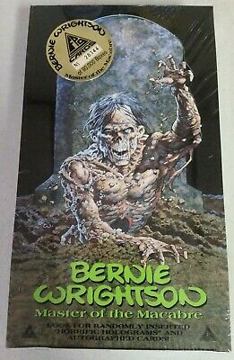 BERNIE WRIGHTSON Master of the Macabre Series 1 SEALED BOX FPG 1993