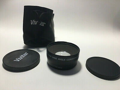 Vivitar HD4 MC AF High Definition 0.43x Wide Angle Converter Macro - FREE SHIP!