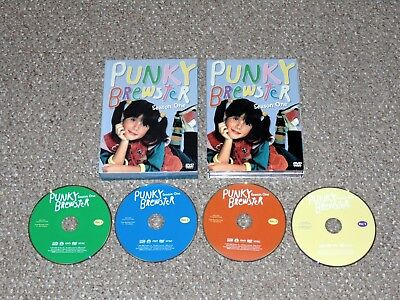 Punky Brewster - Season One DVD 2004 4-Disc Set Shout Factory