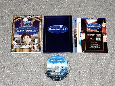 Disney Pixar Ratatouille DVD Steelbook 2007 Complete with Slip Cover Canadian