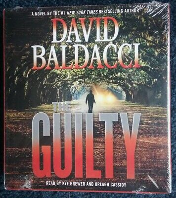 THE GUILTY AUDIOBOOK~David Baldacci Abridged/7 CDs 2015 $30 value PLAYED 1 TIME