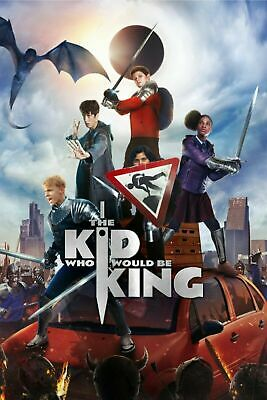 "THE KID WHO WOULD BE KING (DVD, 2019) ""NEW! Spectacular Fun For Kids And Adults"""