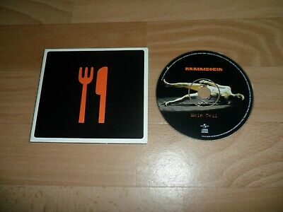 Rammstein - Mein Teil (Rare 4 Mix Eu Digipak Cd Single - Pet Shop Boys Mixes)
