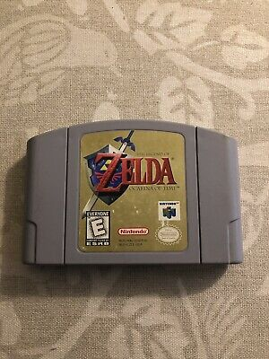 Legend of Zelda: Ocarina of Time Nintendo 64 Game Authentic N64 Cartridge Only