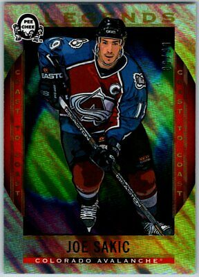 2018-19 OPC COAST TO COAST POLAR LIGHTS LEGENDS JOE SAKIC Insert Card # 196 / 99