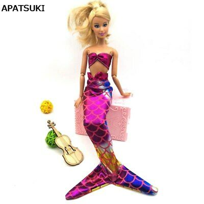 1set Handmade Doll Dress Gown Colorful Skirt Fashion Clothes For 11.5in Doll Toy