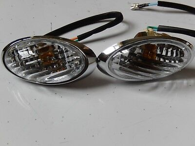 Rear Left & Right Lower Turn Signals For Znen Lance Venice  150T-20 Scooter