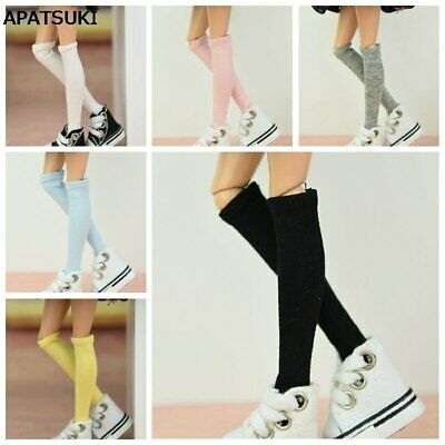 5pair/lot Pure Color Middle Tube Socks For 11.5in Doll Sock for Blythe Doll Sock
