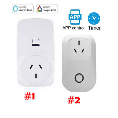 Smart Wifi Power Socket Outlet Switch APP 10A/16A For Echo Alexa Google Home