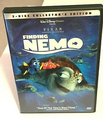 "Finding Nemo 2-Disc Collector's Edition DVD (2003) ""Authentic"" Disney (Like New)"