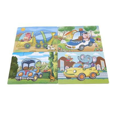 Animal Engineering Puzzle Jigsaw Early Learning Baby Kids Educational Toys FW