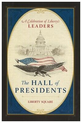 Disney's Hall Of Presidents - Collector Poster 4 Different Sizes  (B2G1 Free!!)