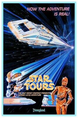 Disneyland Star Tours 1 - Collector Poster 4 Different Sizes  (B2G1 Free!!)