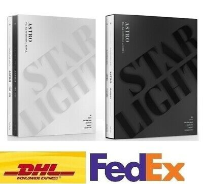 ASTRO STAR LIGHT THE 2nd ASTROAD TO SEOUL DVD BLURAY Photobook Photocard Poster